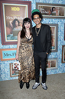"""LOS ANGELES - OCT 21:  Yassir Lester,  Chelsea Devantez at the """"Mrs Fletcher"""" Premiere Screening at the Avalon Hollywood on October 21, 2019 in Los Angeles, CA"""