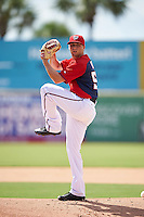 Washington Nationals pitcher Austin Voth (53) during an Instructional League game against the Atlanta Braves on September 30, 2016 at Space Coast Stadium in Melbourne, Florida.  (Mike Janes/Four Seam Images)