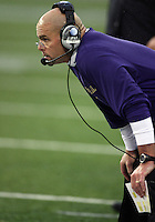 Oct 30, 20010:  Washington defensive coordinator Nick Holt watches from the sidelines against Stanford.  Stanford defeated Washington 41-0 at Husky Stadium in Seattle, Washington.