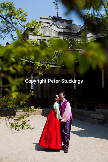 Jeremy and June's Wedding Day, Seoul, Korea