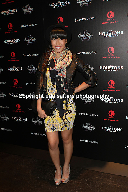 Baiyu Attends The Houstons: On Our Own premiere party celebrating the launch of the new Lifetime docuseries held at Tribeca Grand Hotel, NY   10/22/12