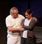 """Malachy Cleary & Brenda Withers star iin """"Other Desert Cities"""" at the tech rehearsal (in costume) on October 14, 2015 at Whippoorwill Halll Theatre, North Castle Library, Kent Place, Armonk, New York.  (Photo by Sue Coflin/Max Photos)"""