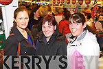 Angela Flahive (Ballyheigue) Tanya O'Connor (Causeway) and Nicola O'Connor (Causeway) who were pictured at CH Chemist Christmas discount evening on Friday night last..