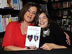 Local Medium Tara Coyle pictured with her daughter Leanne at her book signing at Waterstones in Scotch Hall. Photo: www.pressphotos.ie