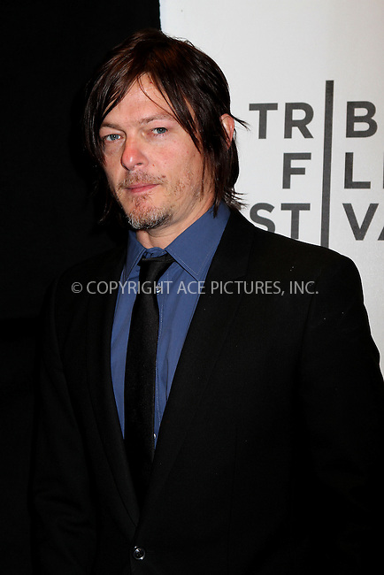 WWW.ACEPIXS.COM......April 20, 2013, New York City, NY.....Norman Reedus arriving at the screening of 'Sunlight Jr.' at the 2013 Tribeca Film Festival at BMCC Tribeca PAC on April 20, 2013 in New York City. ..........By Line: Nancy Rivera/ACE Pictures....ACE Pictures, Inc..Tel: 646 769 0430..Email: info@acepixs.com
