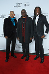 "Earth Wind & Fire arrive at the Clive Davis: ""The Soundtrack Of Our Lives"" world premiere for the Opening Night of the 2017 TriBeCa Film Festival on April 19, 2017 at Radio City Music Hall."