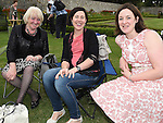 Cynthia Cooney, Aoife Cooney and Eleanor Loughman pictured at Wuthering Heights at Oldbridge House. Photo:Colin Bell/pressphotos.