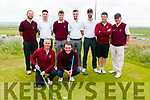 Barton Shield: Members of Ballybunion Golf Club that took part in the Barton Shield at Ballybunion Golf Club on Sunday last. Front : Kevin Barry& Ed Stack. Back: Hannes Boch, Morgan Sheehy, Frank Geary, Senan Carroll, Dave O'Driscoll, Gary Scanlan & Sean Kennelly.