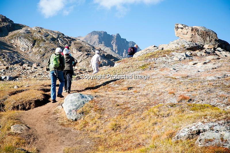Mountain Trail Tasiilaq Greenland