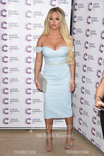 Bianca Gascoigne arriving at James Ingham&rsquo;s Jog On to Cancer, in aid of Cancer Research UK at The Roof Gardens in Kensington, London.  <br /> 12 April  2017<br /> Picture: Steve Vas/Featureflash/SilverHub 0208 004 5359 sales@silverhubmedia.com