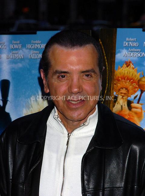 WWW.ACEPIXS.COM . . . . .  ....December 7, 2007, New York City....Chazz Palminteri attends the 'Arthur and the Invisibles' Premiere.....Please byline: AJ Sokalner - ACEPIXS.COM.... *** ***..Ace Pictures, Inc:  ..(212) 243-8787 or (646) 769 0430..e-mail: picturedesk@acepixs.com..web: http://www.acepixs.com