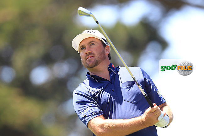 Graeme McDOWELL (NIR) during the first round of the WGC Cadillac Matchplay championship, TPC Harding Park, 99 Harding Road, San Francisco, CA 94132, United States. 29/04/2015<br /> Picture Fran Caffrey, www.golffile.ie