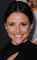 "NEW YORK, NY - SEPTEMBER 16: Actress Julia Louis-Dreyfus arrives at the ""Enough Said"" New York Screening held at Paris Theater on September 16, 2013 in New York City. (Photo by Jeffery Duran/Celebrity Monitor)"
