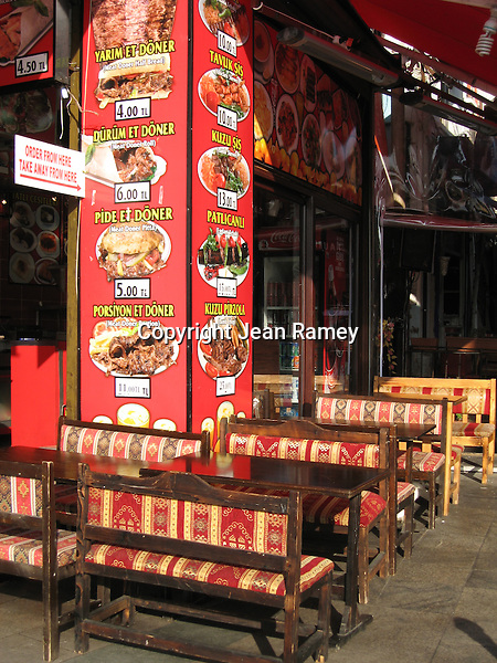 Kebab restaurant