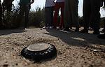 Recognition of mines.Reconocimiento de minas