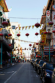 USA, California, San Francisco, a view down the heart of China town