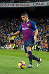 Luis Alberto Suarez Diaz of FC Barcelona in action during the La Liga 2018-19 match between FC Barcelona and RC Celta de Vigo at Camp Nou on 22 December 2018 in Barcelona, Spain. Photo by Vicens Gimenez / Power Sport Images