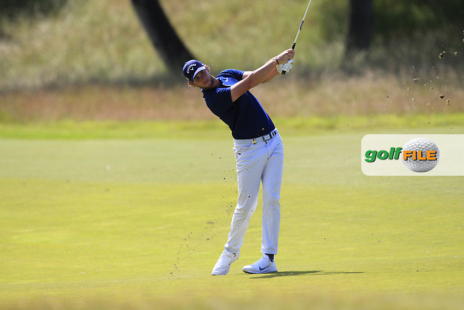 Thomas Pieters (BEL) on the 2nd during Round 4 of the Aberdeen Standard Investments Scottish Open 2019 at The Renaissance Club, North Berwick, Scotland on Sunday 14th July 2019.<br /> Picture:  Thos Caffrey / Golffile<br /> <br /> All photos usage must carry mandatory copyright credit (© Golffile | Thos Caffrey)