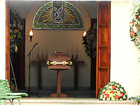 SAO PAULO, SP, 14.09.2013 - VELORIO MORTE LUIZ GUSHIKEN - Velório do ex ministro Luiz Gushiken acontece no Cemitério Redenção, na regiao oeste de Sao Paulo, neste sabado, 14.  (Foto: Mauricio Camargo / Brazil Photo Press).
