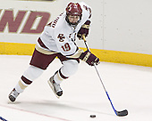 Brock Bradford - The Boston College Eagles defeated Northeastern University Huskies 5-3 on Saturday, November 19, 2005, at Kelley Rink in Conte Forum at Chestnut Hill, MA.