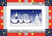Kris, CHRISTMAS SYMBOLS, WEIHNACHTEN SYMBOLE, NAVIDAD SÍMBOLOS, Christmas landscapes, Weihnachten Winterlandschafte, paintings+++++,PLKKS912,#XX# ,#161#