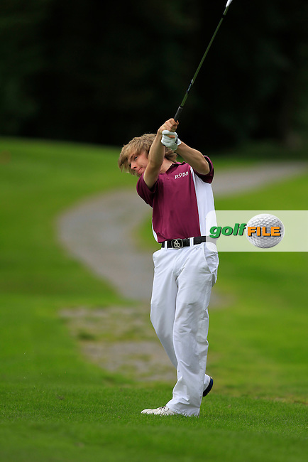 David Foy (Laytown &amp; Bettystown) on the 3rd during Day 2 of the Irish Youths Amateur Close Championship at Claremorris Golf Club on Thursday 29th August 2013 <br /> Picture:  Thos Caffrey/ www.golffile.ie