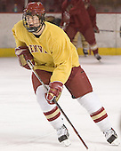 Patrick Mullen - Reigning national champions (2004 and 2005) University of Denver Pioneers practice on Friday morning, December 30, 2005 before hosting the Denver Cup at Magness Arena in Denver, CO.
