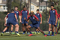 Chula Vista, CA - January 8, 2019: The USMNT trains during their annual January camp in California.