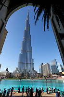 United Arab Emirates, Dubai: Burj Khalifa, the world's tallest building | Vereinigte Arabische Emirate, Dubai: das Burj Khalifa