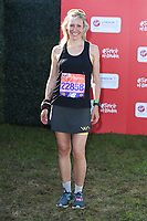Sophie Raworth<br /> at the start of the 2018 London Marathon, Greenwich, London<br /> <br /> ©Ash Knotek  D3397  22/04/2018
