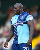 Adebayo Akinfenwa of Wycombe Wanderers during Yeovil Town vs Wycombe Wanderers, Sky Bet EFL League 2 Football at Huish Park on 14th April 2018