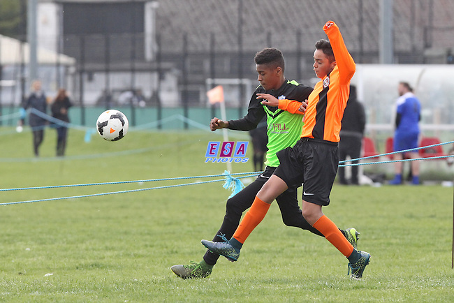 AFC NASSA v LAMBETH TIGERS<br /> LONDON COUNTY SATURDAY YOUTH LEAGUE U13 CHALLENGE CUP SATURDAY 14TH MAY 2016 LOMG LANE FC
