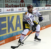 28th September 2017, Saturn Arena, Ingolstadt, Germany; German Hockey League,  ERC Ingolstadt versus Eisbaren Berlin; in the picture Blake PARLETT (Berlin/CAN),