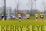 Daithí Casey Dr Crokes scores a goal from a penalty against The Nire at Mallow on Sunday