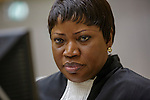 Nederland, Den Haag, 01=12-2014, ICC tribunaal , international criminal court, advocaat, aanklaagster Fatou Bensouda, uit Gambia.She is a former government civil servant, international criminal law prosecutor and legal adviser. She has been the International Criminal Court's chief prosecutor since June 2012, after having served as a Deputy Prosecutor in charge of the Prosecutions Division of the ICC since 2004.<br /> foto Michael Kooren