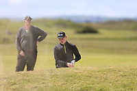 Zach Glynn (Bray) during the 2nd round of the East of Ireland championship, Co Louth Golf Club, Baltray, Co Louth, Ireland. 03/06/2017<br /> Picture: Golffile | Fran Caffrey<br /> <br /> <br /> All photo usage must carry mandatory copyright credit (&copy; Golffile | Fran Caffrey)