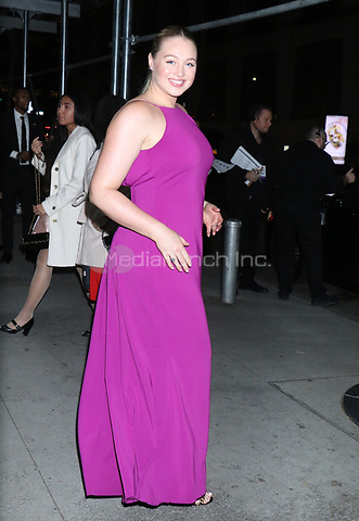 NEW YORK, NY - NOVEMBER 11: Iskra Lawrence at the 2019 Glamour Women of the Year Awards at Alice Tully Hal, Lincoln Center in New York City on November 11, 2019. Credit: RW/MediaPunch