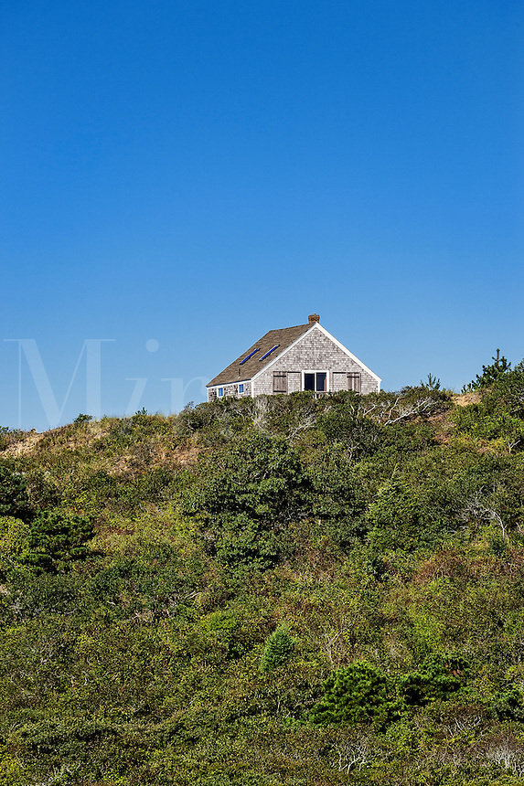 Hill top cottage, Truro, Cape Cod, Massachusetts, USA