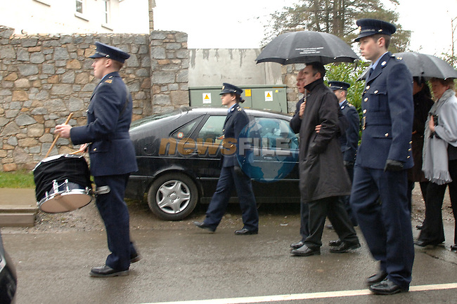 The State funeral of Garda Tanya Corcoran in termonfeckin church in Co Louth. Tanya died after giving birth to twins at Our lady of lourdes hospital in Drogheda. One of the twins died also and the other in in a critical condtion..Photo: Newsfile.