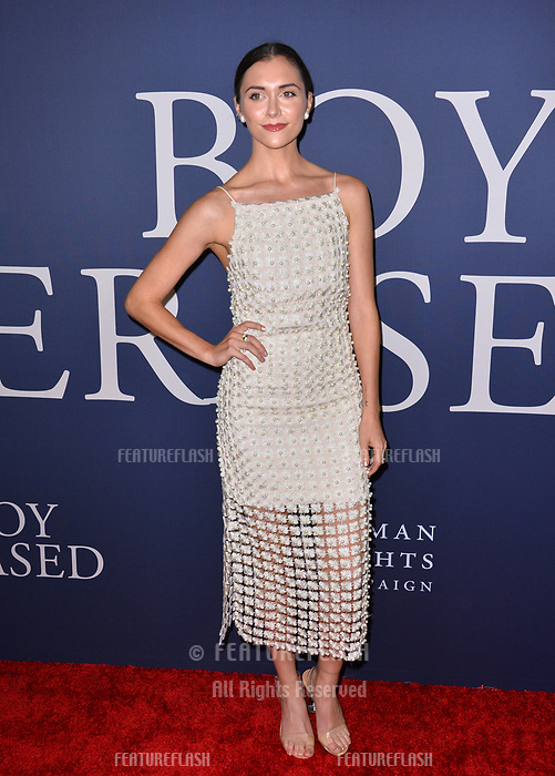 LOS ANGELES, CA. October 29, 2018: Alyson Stoner at the Los Angeles premiere for &quot;Boy Erased&quot; at the Directors Guild of America.<br /> Picture: Paul Smith/Featureflash
