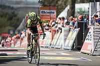 Annemiek Van Vleuten (NED/Mitchelton Scott) finishing 4th place.<br /> <br /> 21st La Fl&egrave;che Wallonne Femmes <br /> 1 day race: Huy - Huy (118,5KM)