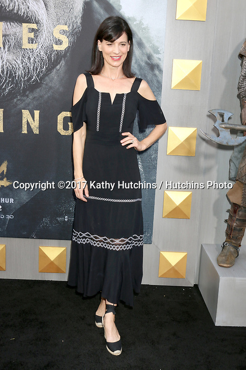 """LOS ANGELES - MAY 8:  Perrey Reeves at the """"King Arthur Legend of the Sword"""" World Premiere on the TCL Chinese Theater IMAX on May 8, 2017 in Los Angeles, CA"""