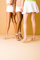 Group of women's legs<br />