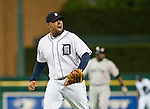 10 May 2010: Detroit Tigers relief pitcher Joel Zumaya (54) reacts after throwing a strike-out during the Boston Red Sox at Detroit Tigers Major League Baseball game, at Comerica Park in Detroit, MI. The Tigers won 7-6 in 12 innings.