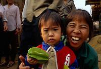 Meo (= H'Mong)-Minderheit in Sa Pa, Vietnam