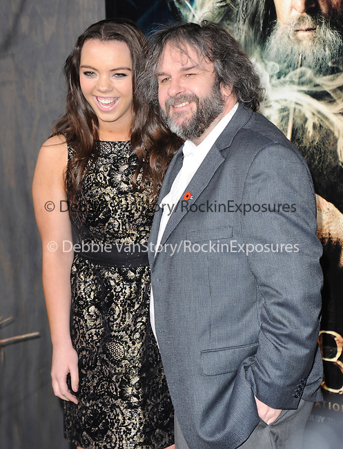 LOS ANGELES, CA - December 02: Peter Jackson arrives at The Warner Bros' Pictures L.A. Premiere of THE HOBBIT: THE DESOLATION OF SMAUG held at The Dolby Theater in Hollywood, California on December 02,2013                                                                               © 2013 Hollywood Press Agency