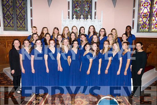 Concert in aid of Kerry Hospice foundation hosted by Kerry School of Music with the Greenwich Academy Madrigal Singers,Connecticut US at St John's Church, Ashe Street on Saturday