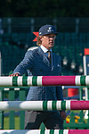 Stamford, Lincolnshire, United Kingdom, 8th September 2019, Ludwig Svennerstal (SWE) during the 2nd Horse Inspection of the 2019 Land Rover Burghley Horse Trials, Credit: Jonathan Clarke/JPC Images
