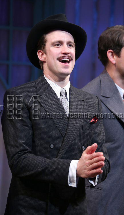 Gavin Creel during the Broadway Opening Night Performance curtain call bows for 'She Loves Me' at Studio 54 on March 17, 2016 in New York City.