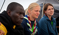 Talks on a partnerspip of Zimbabwe scouts German Guides and Scouts (VCP). Photo: André Jörg/Scouterna
